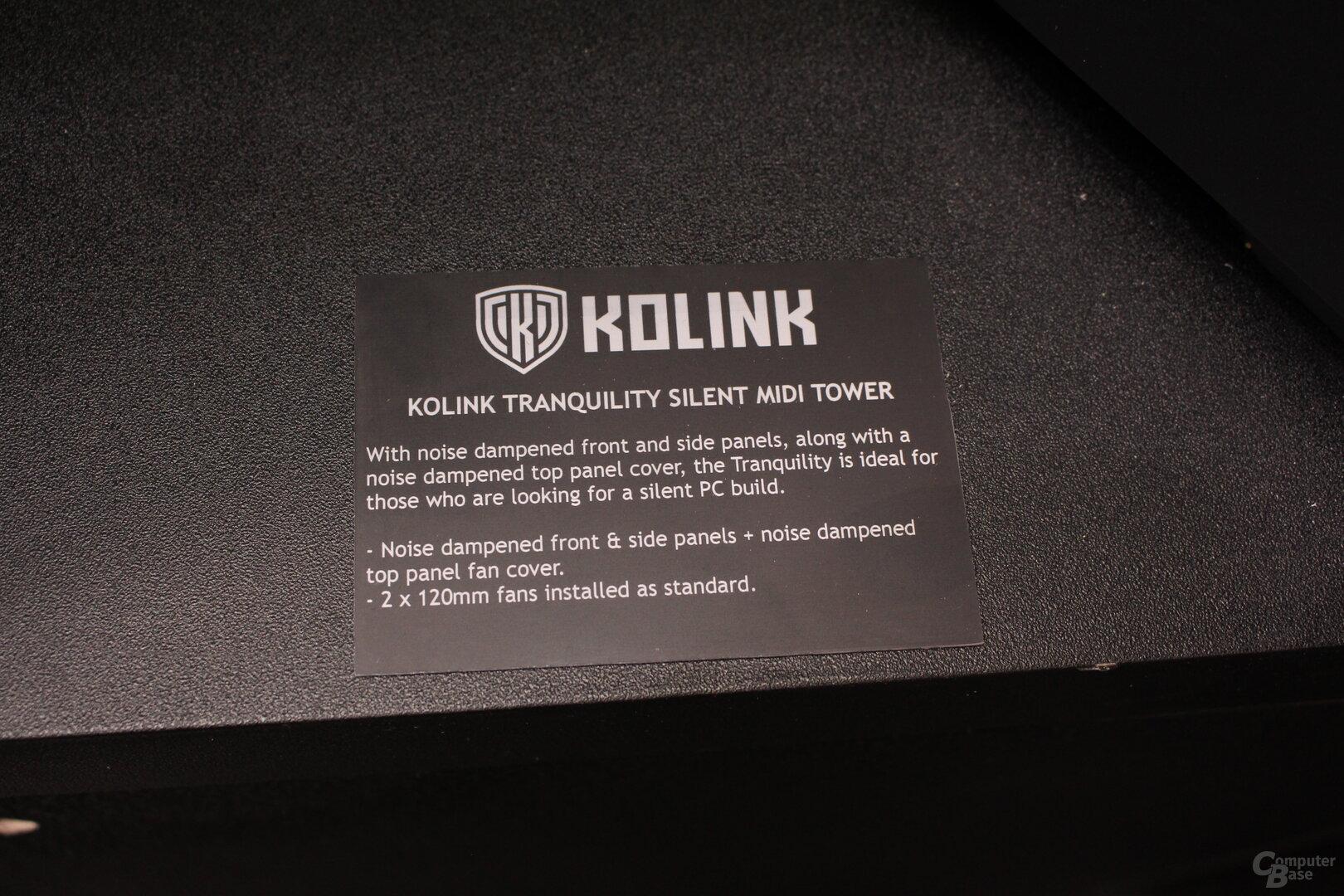 Kolink Tranquility Silent