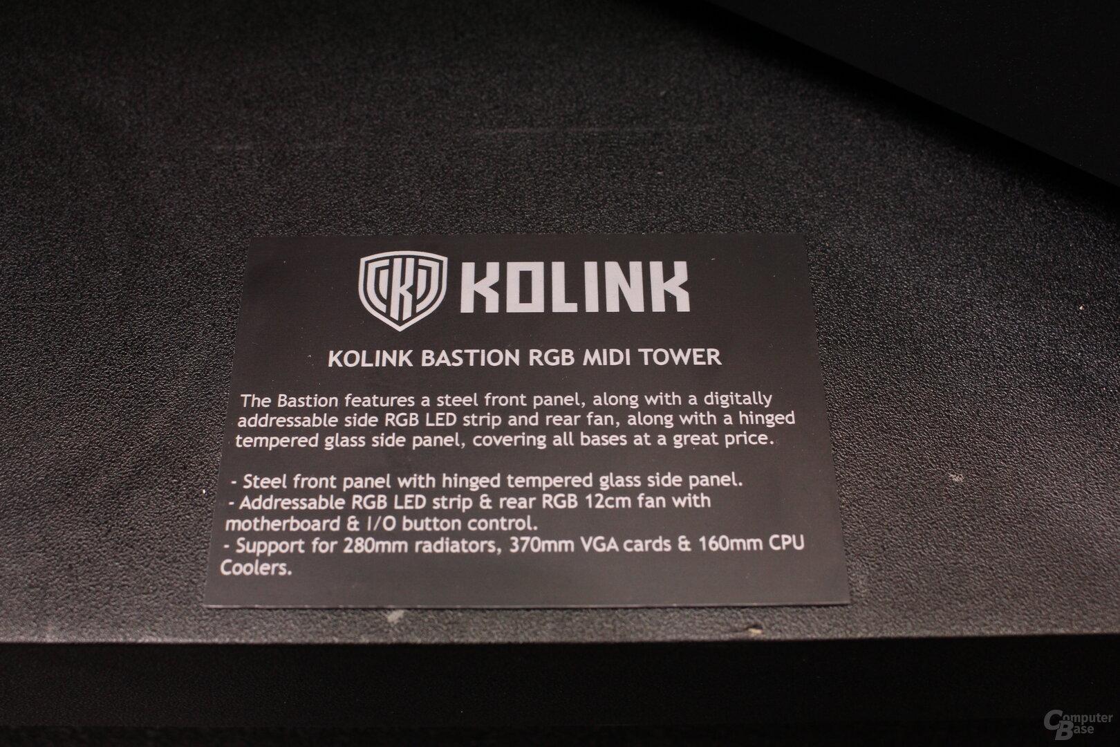 Kolink Bastion RGB