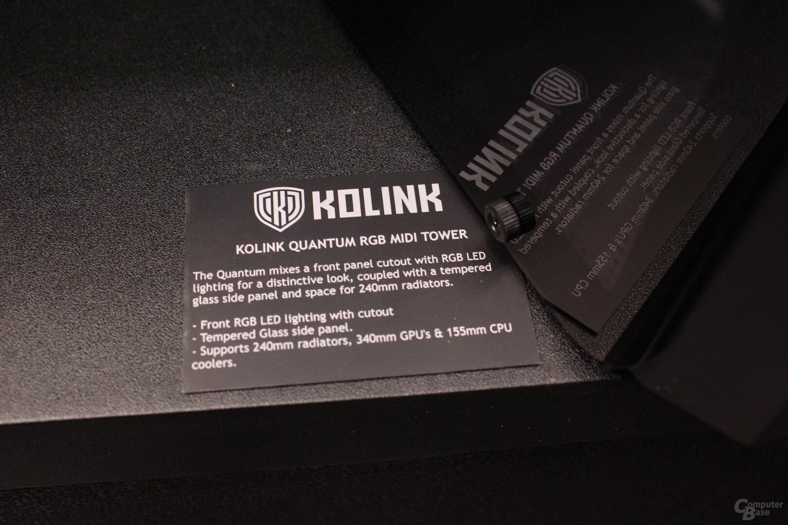 Kolink Quantum RGB
