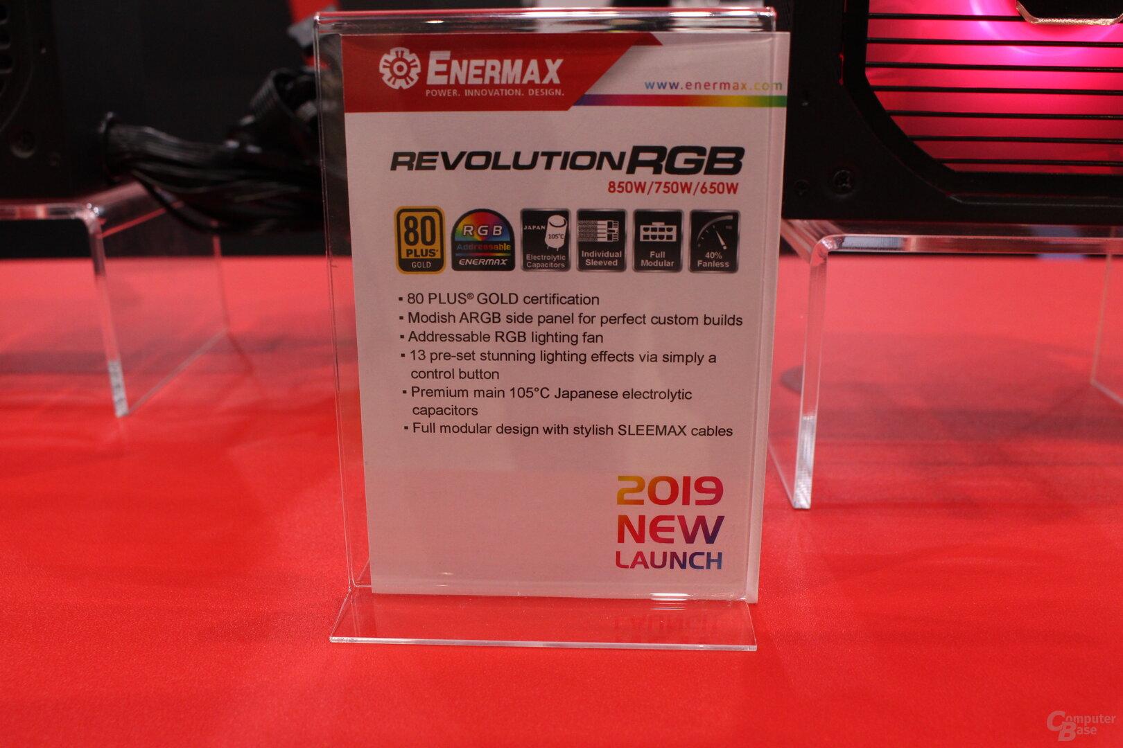 Enermax Revolution RGB