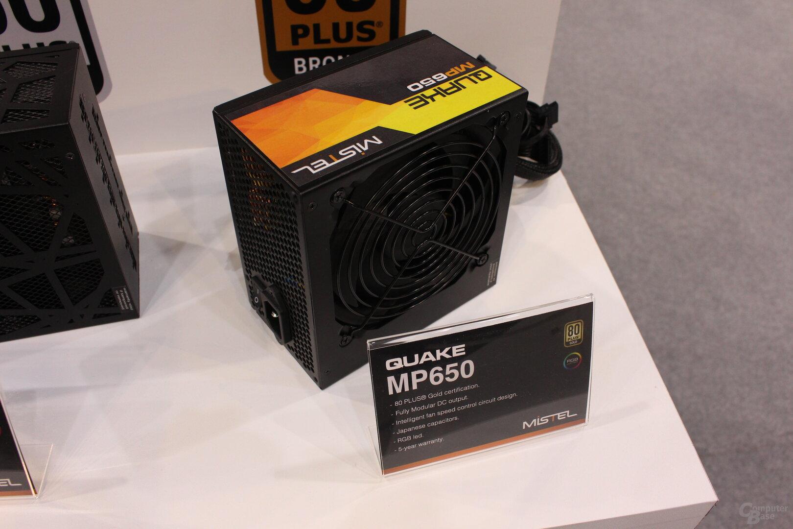 Mistel Quake MP650