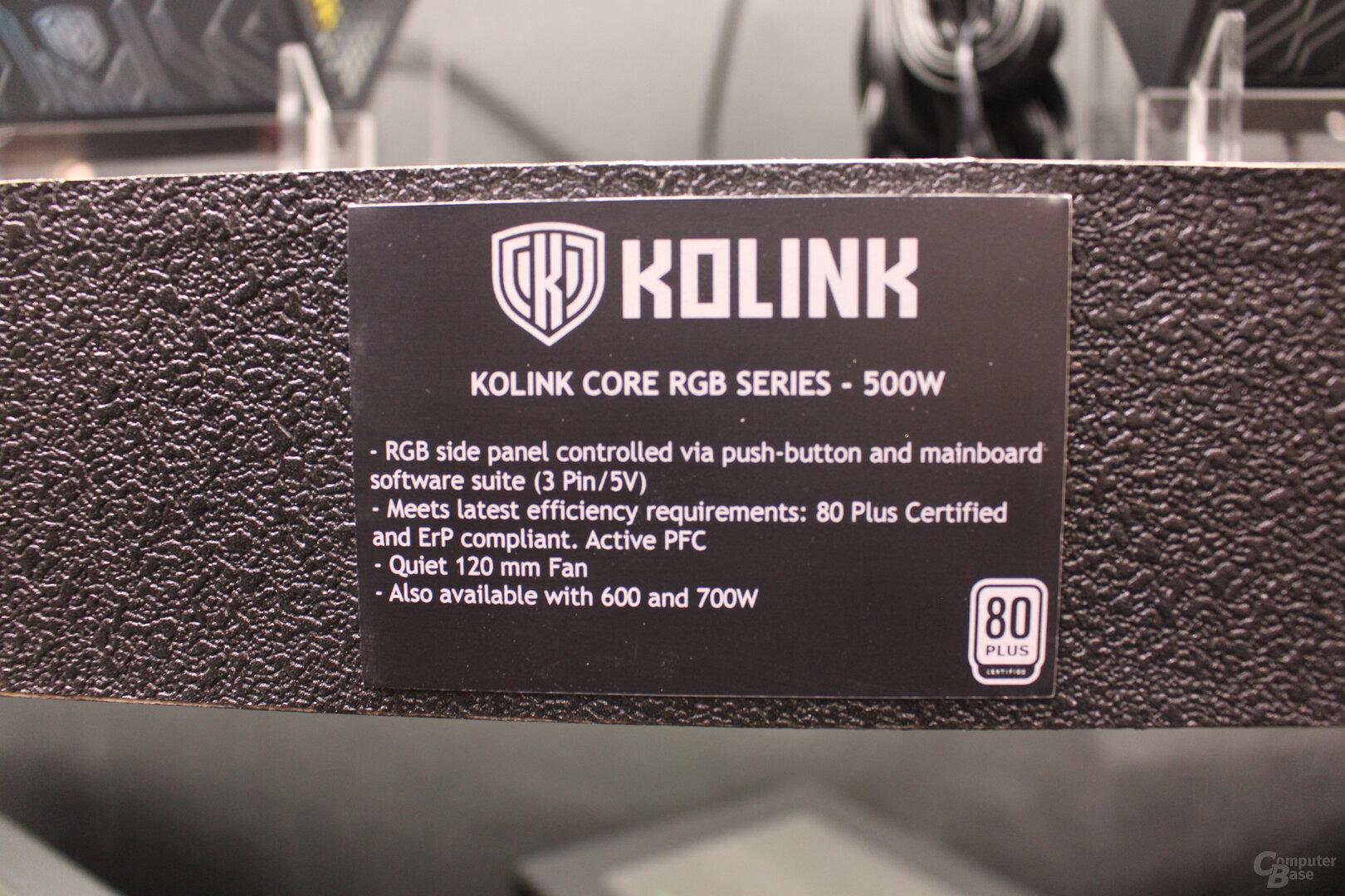 Kolink Core RGB Series