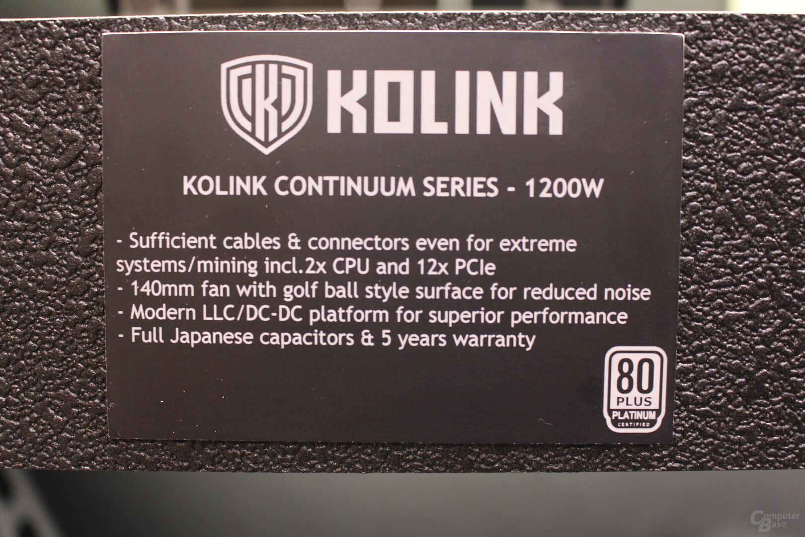 Kolink Continuum 1200W