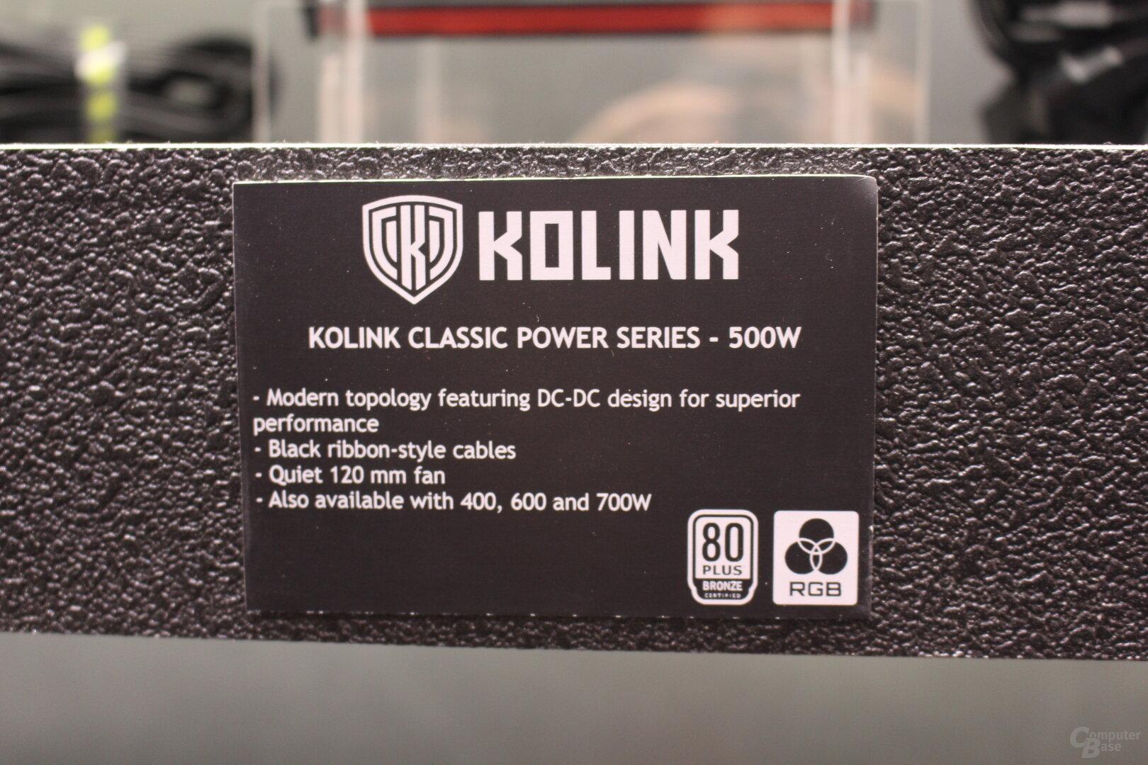 Kolink Classic Power Series