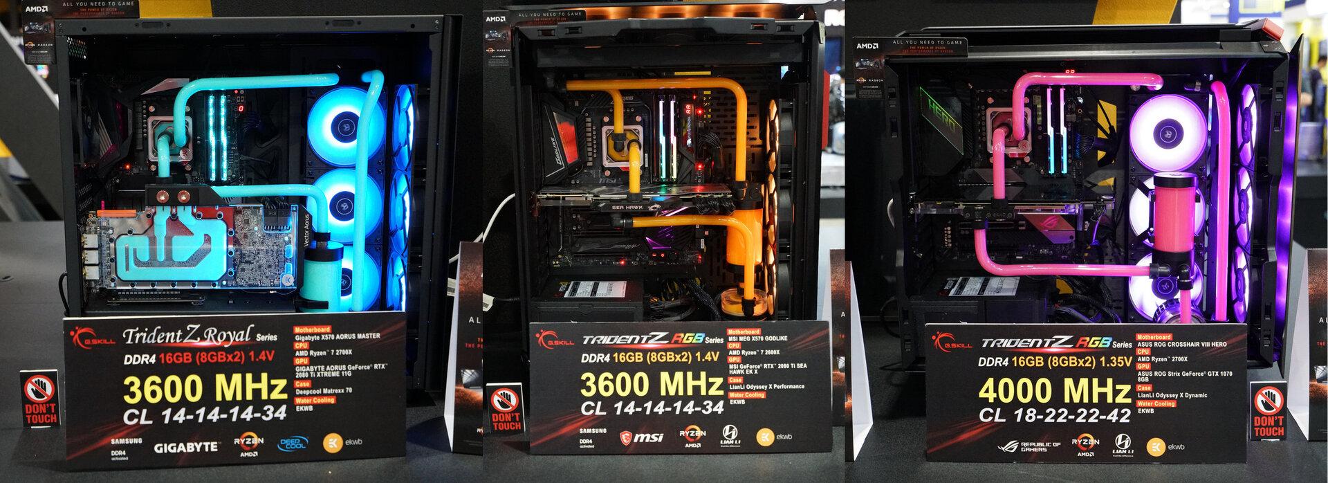 G.Skill Trident Z RGB für AMD-Ryzen mit DDR4-4000