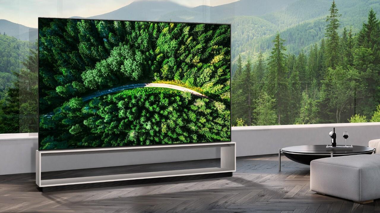 88Z9: LG bringt 8K-OLED-TV für 38.000Euro auf den Markt
