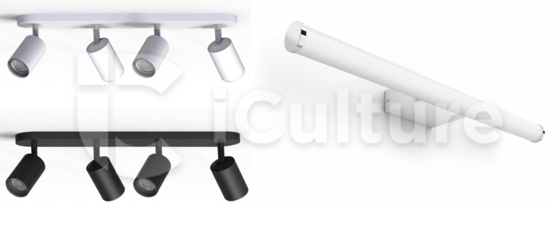 Neue Philips Hue Decken- und Spiegellampe