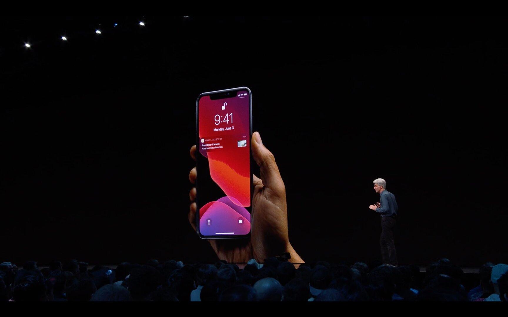 Home Screen des iOS 13 Dark Mode