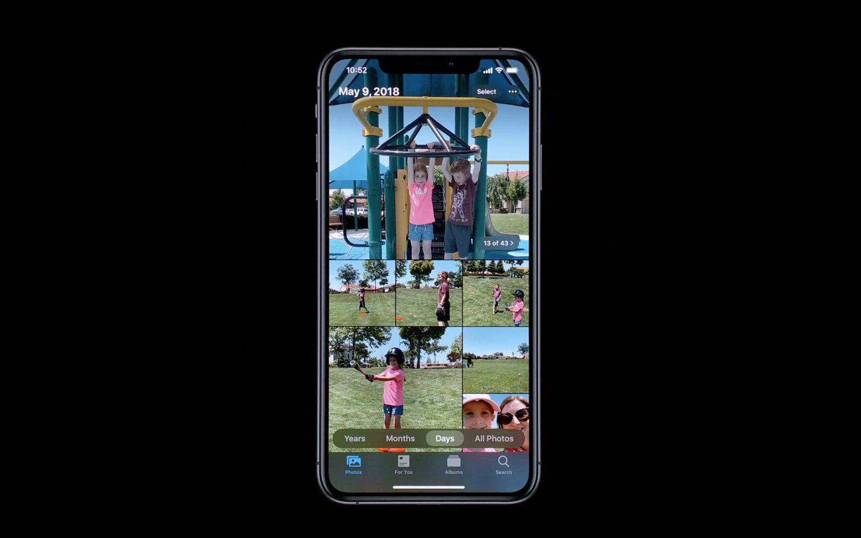 Apple Photos in iOS 13 soll für mehr Übersicht sorgen