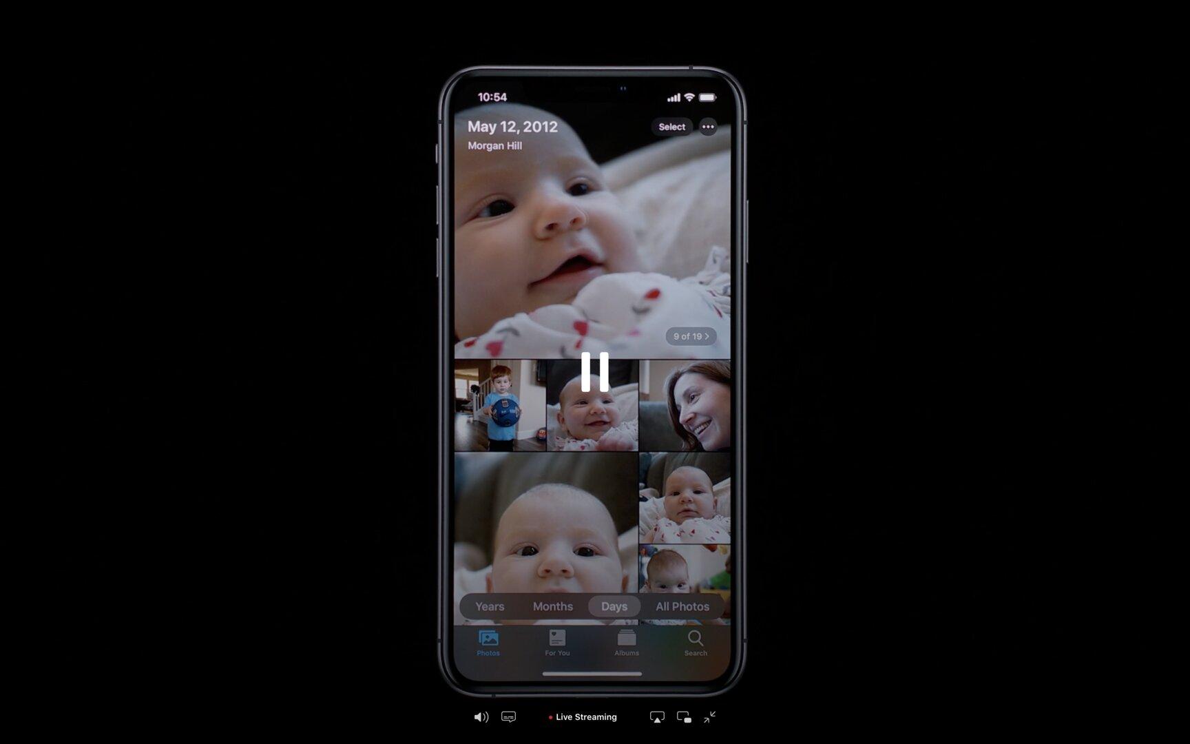 Das neue Days in Apple Photos