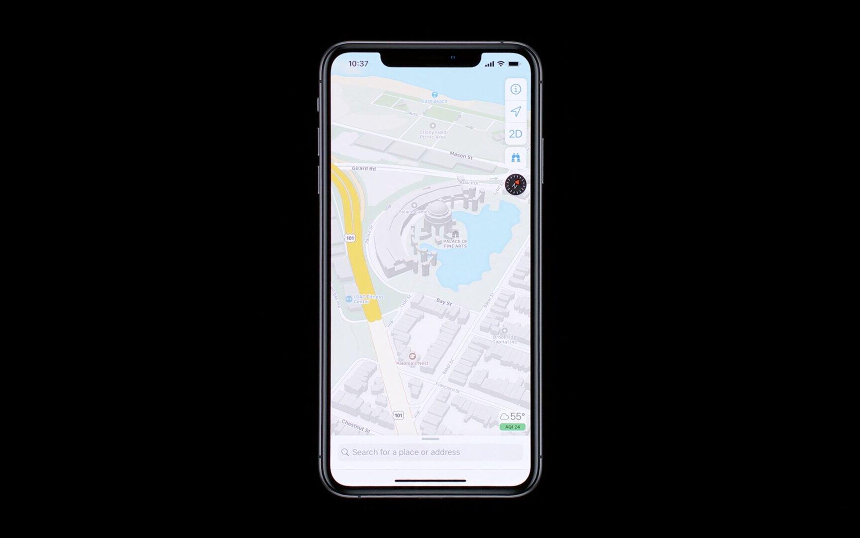 Apple Maps wird mit iOS 13 komplett überholt, 2019 aber nur in den USA
