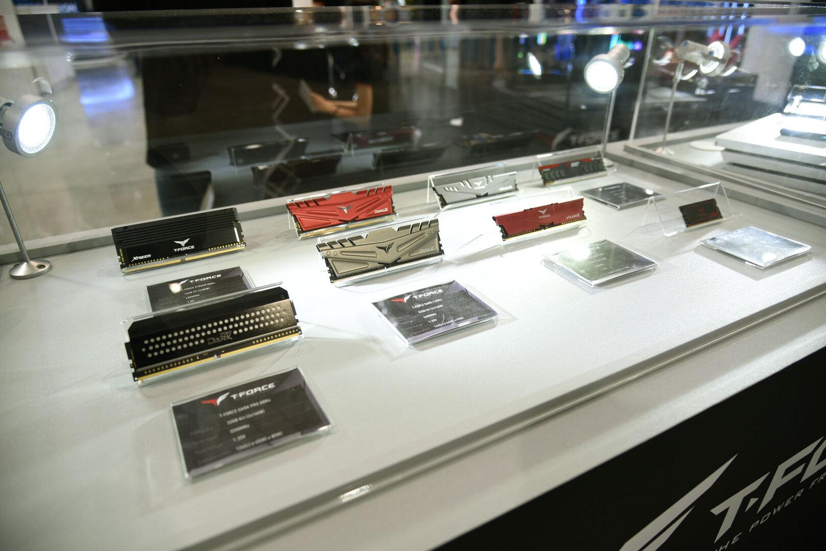 Team Group Computex 2019 – DDR4-RAM der T-Force-Familie aufgereiht
