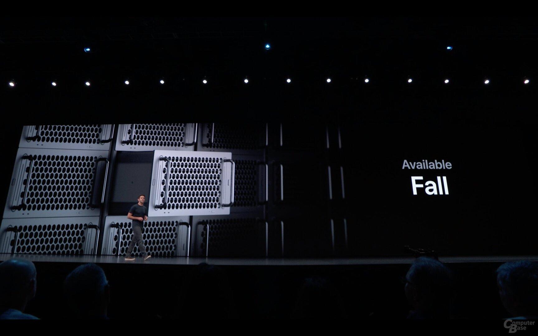Der neue Mac Pro kommt auch im Rack-Format