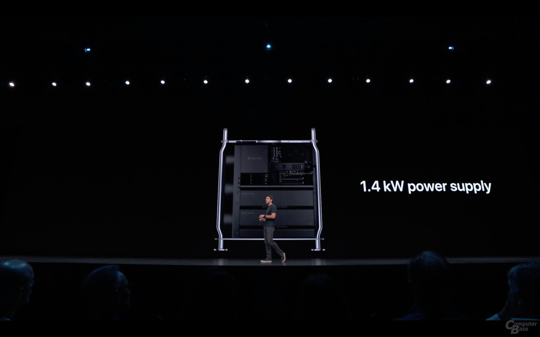 Das Netzteil hat immer 1.400 Watt