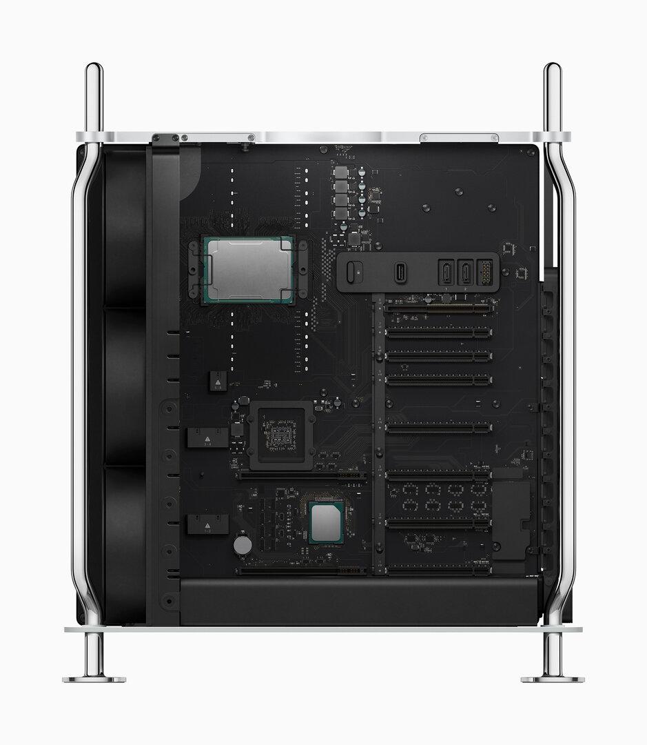 Der neue Mac Pro: Das Mainboard mit Xeon-CPU
