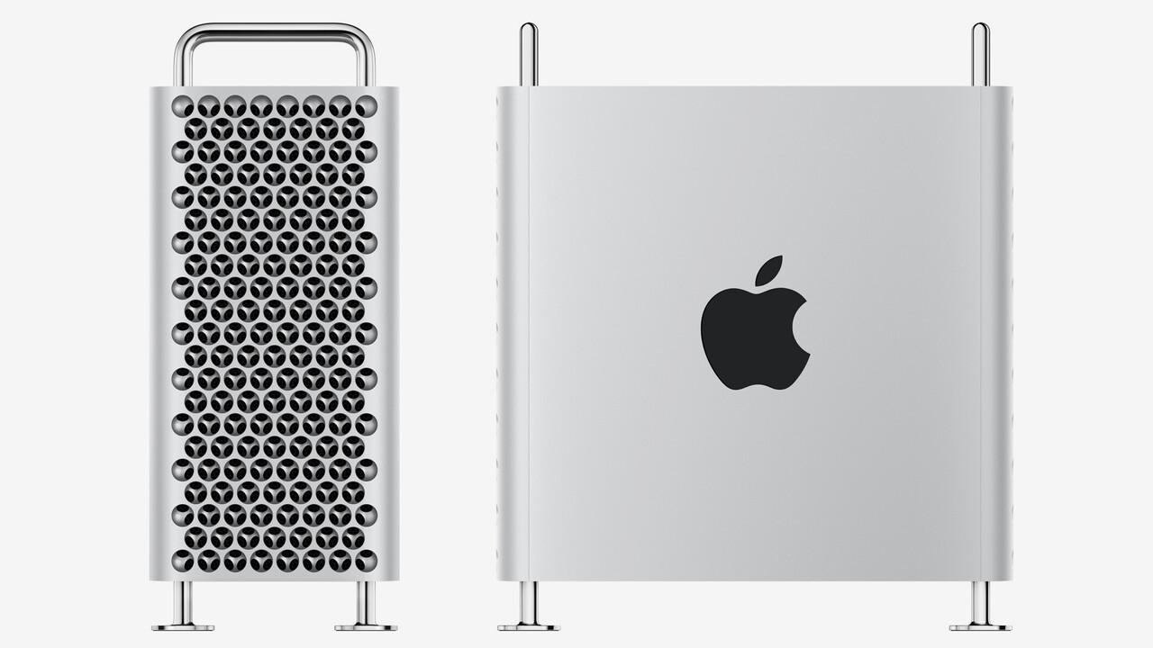Apple Mac Pro: Workstation mit bis zu 28 Kernen & 2× Dual-Vega-20