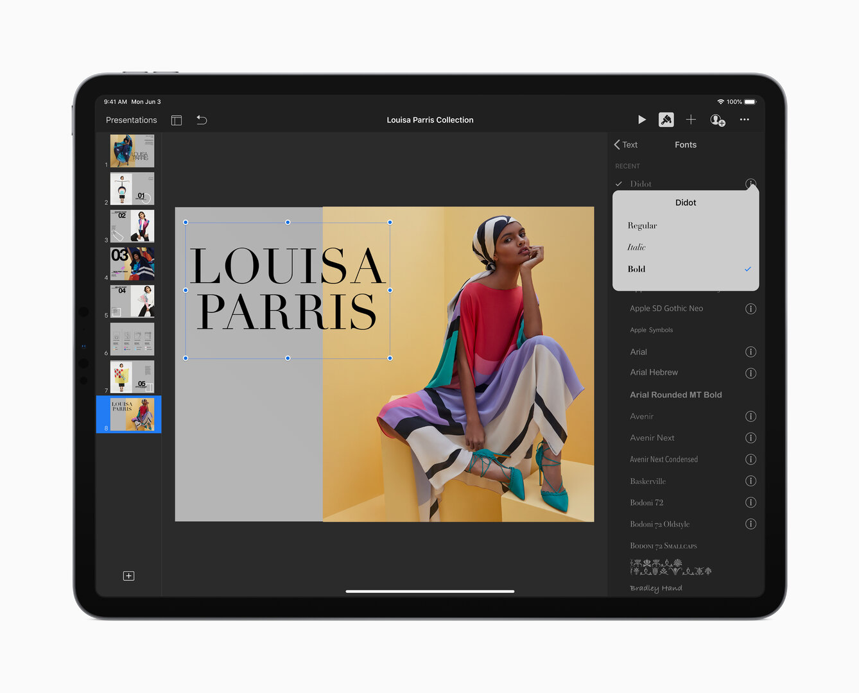 iPadOS unterstützt eigene Schriftarten