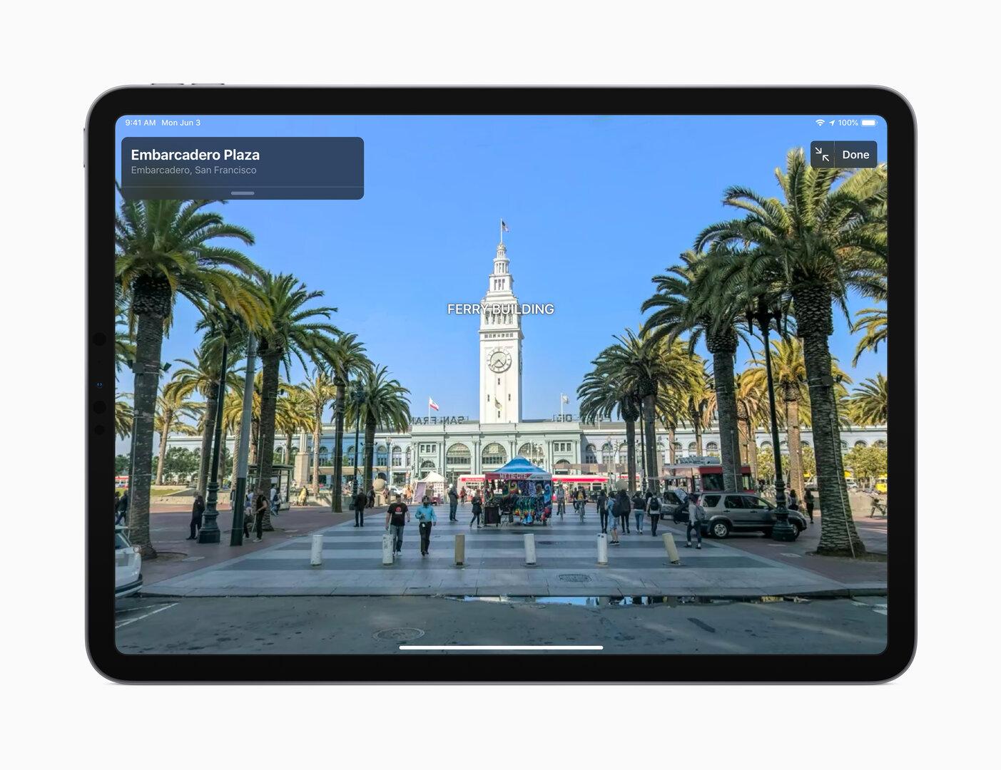 Apple Maps mit Street-View-ähnlicher Ansicht