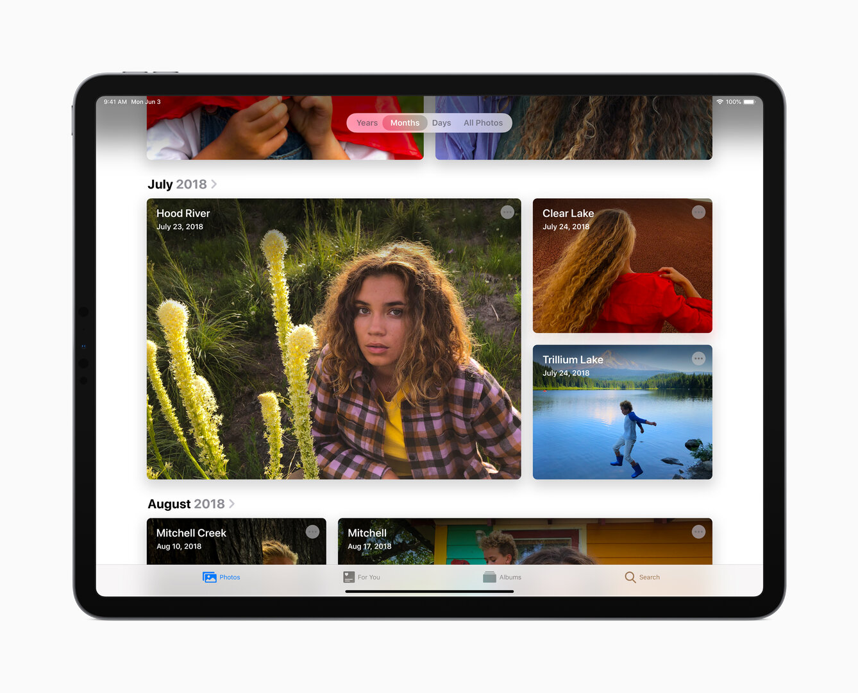 Fotos-App auch für iPadOS