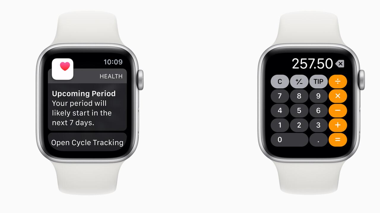 watchOS 6: Apple Watch bekommt App Store und trackt Menstruation