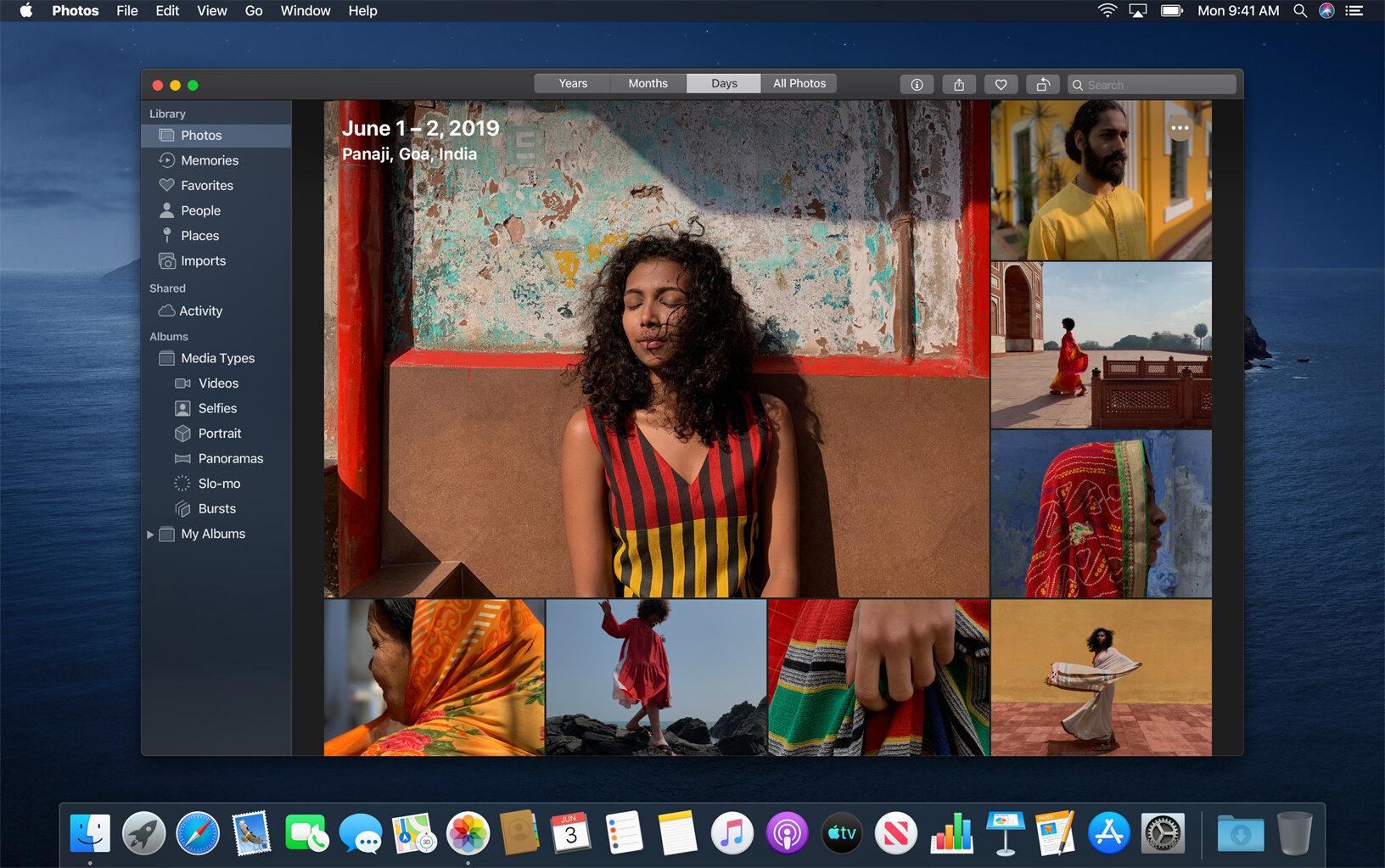 Apple macOS 10.15 Catalina: Fotos