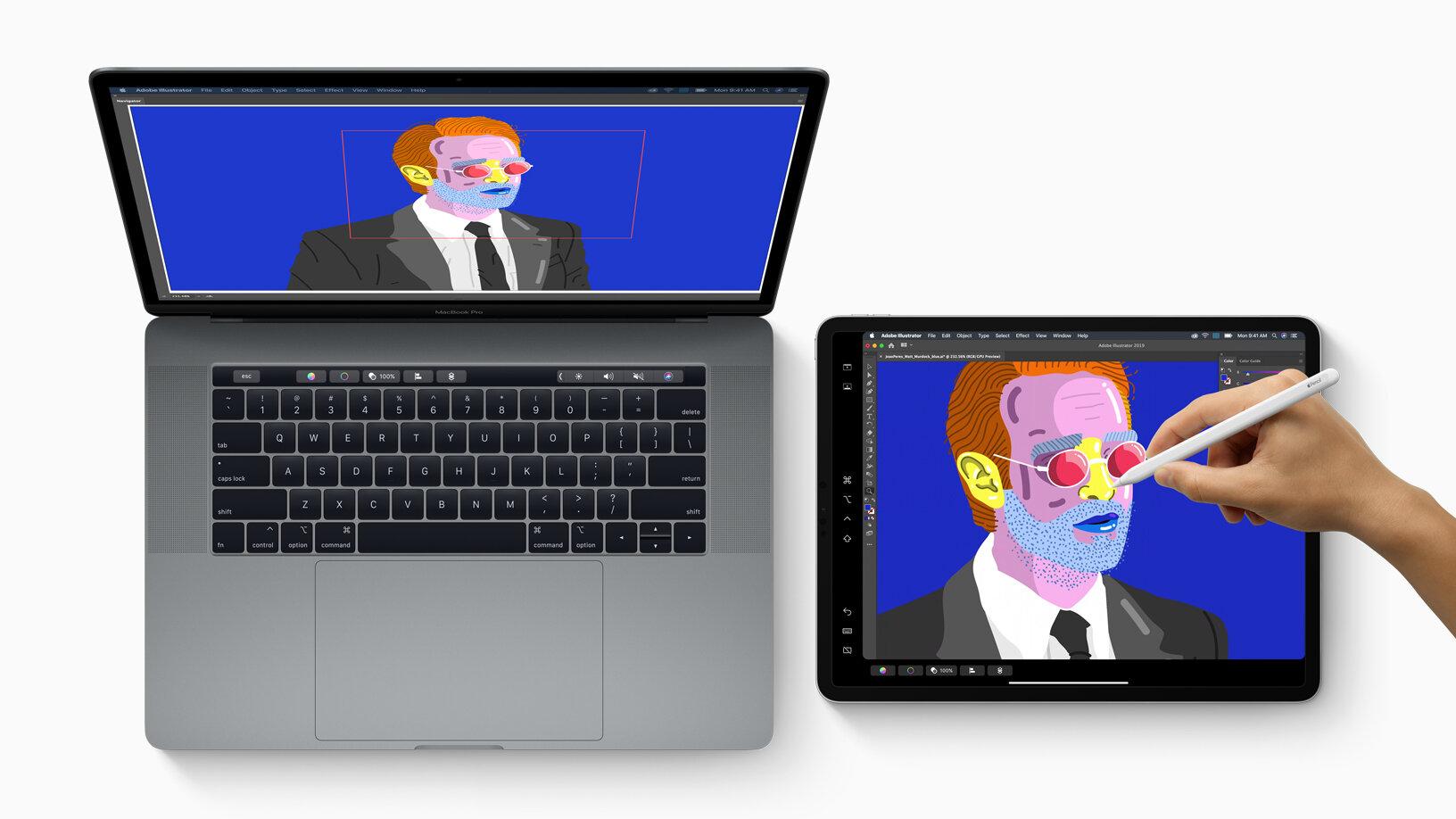 Apple macOS 10.15 Catalina: Sidecar