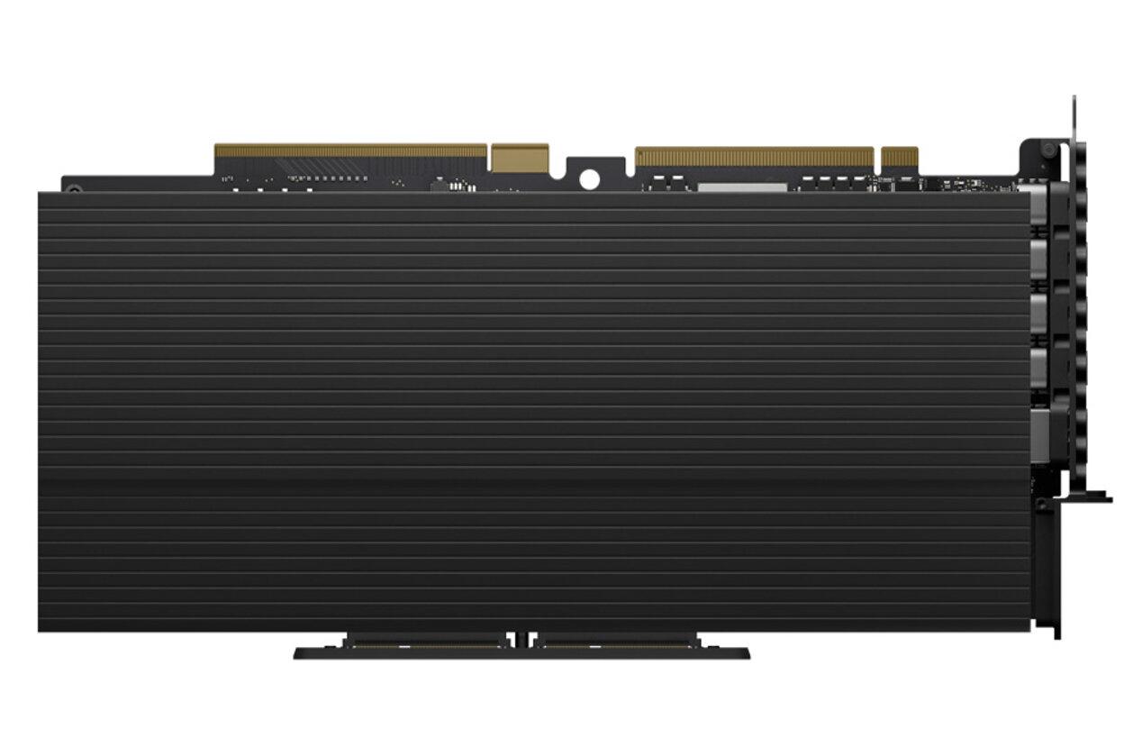 AMD Radeon Pro Vega II Duo abgedeckt