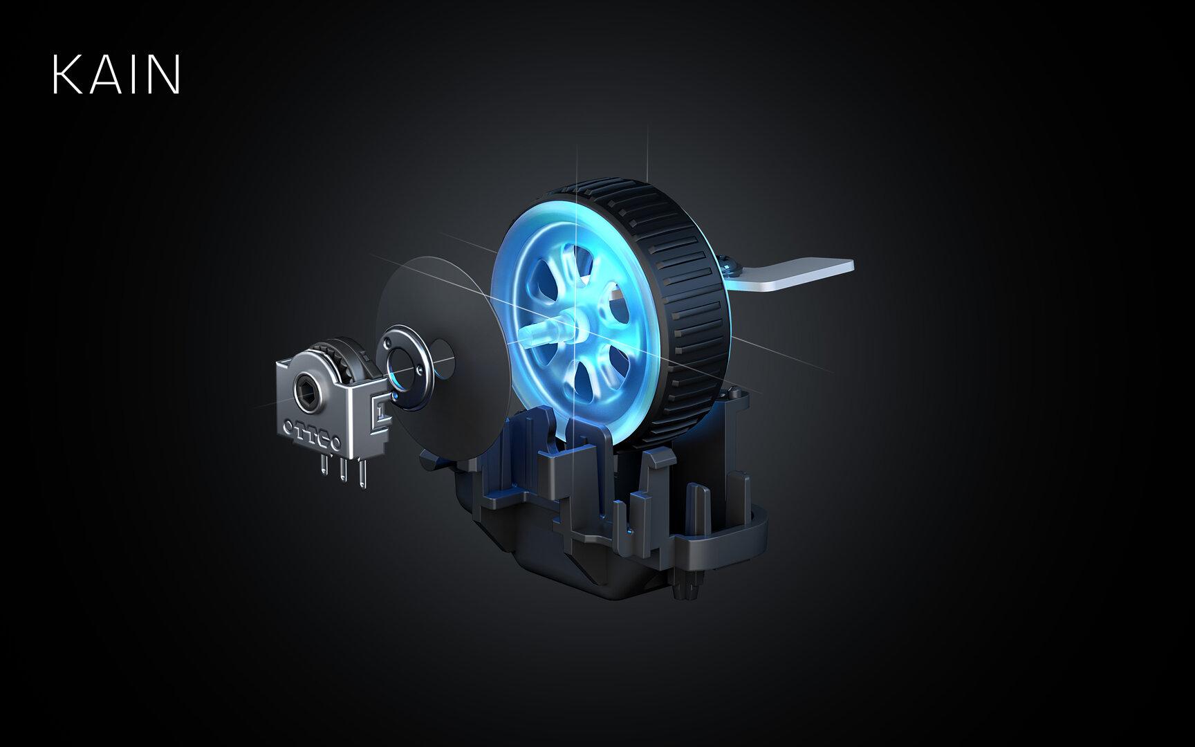 Roccat Kain Titan Wheel