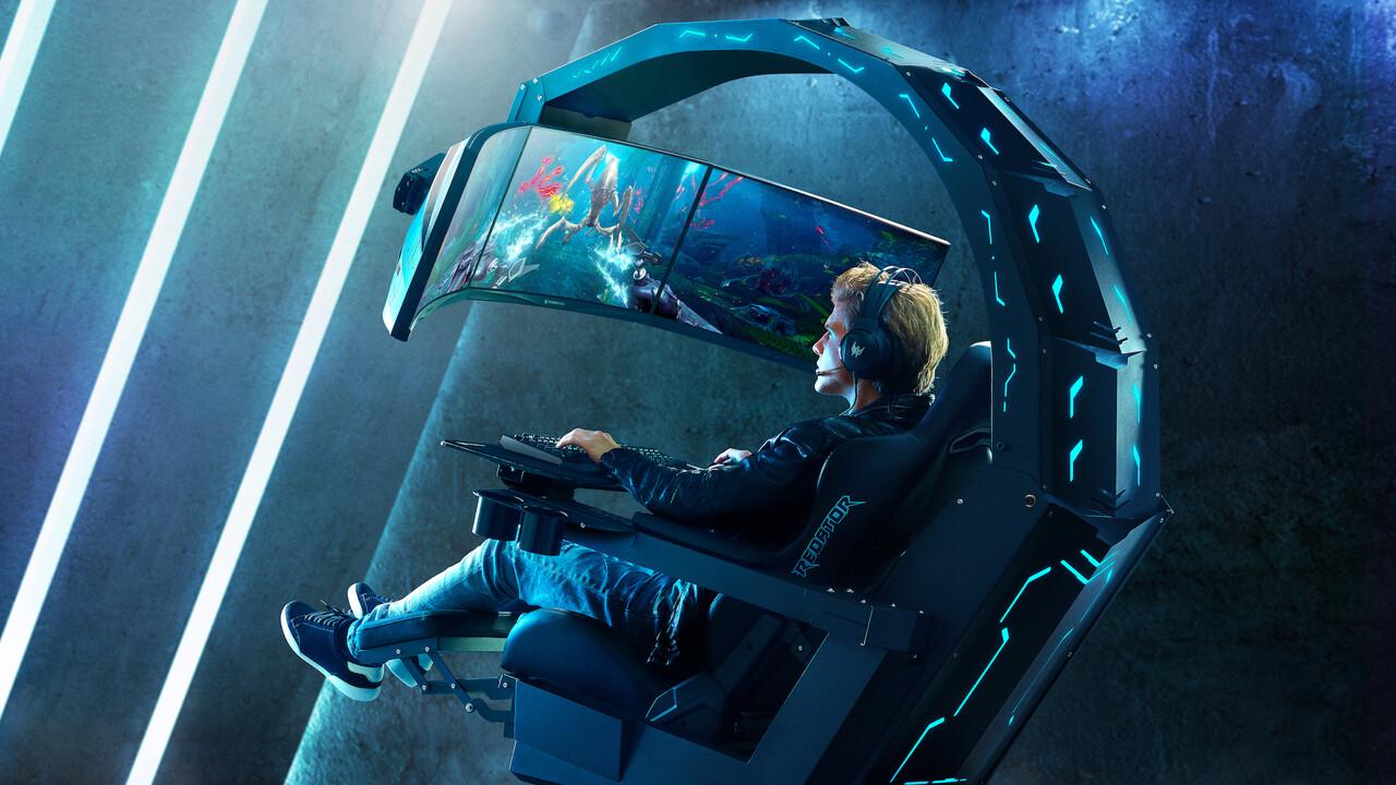 Gaming-Thron: Acer Predator Thronos startet ab 18.000Euro