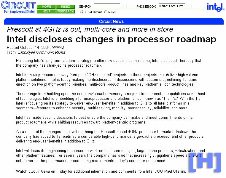 internes Intel-Dokument