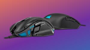 Nightsword RGB & M55 RGB Pro: Mäuse mit Schwerpunkt-Messung und Symmetrie
