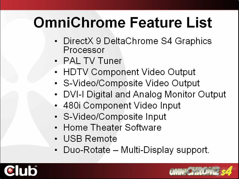 Club3D Omnichrome S4