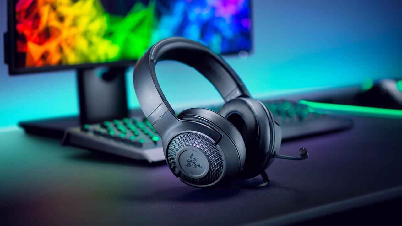 Razer Kraken X: Leichtes Gaming-Headset mit 7.1-Raumklang