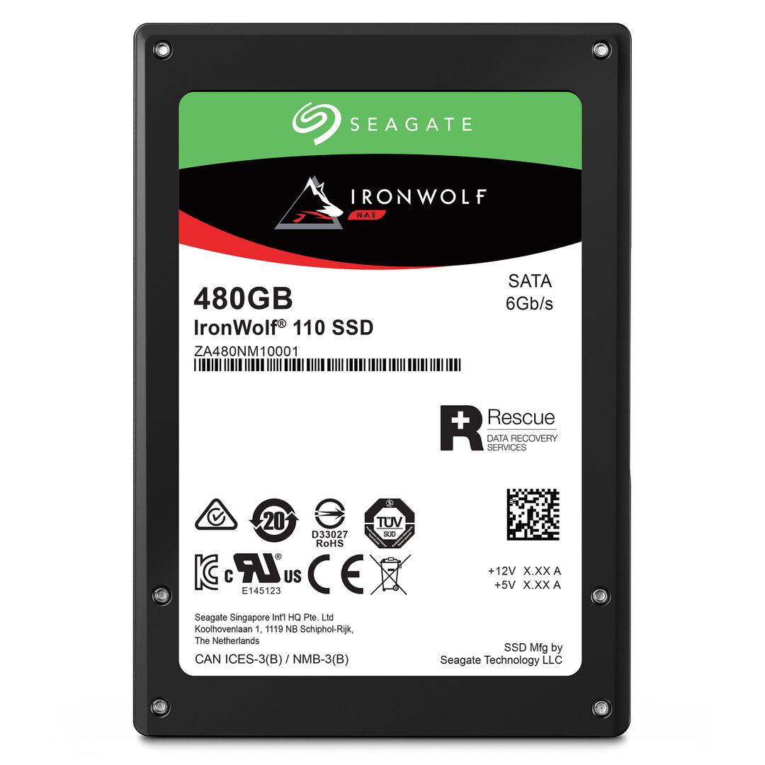 Zwei Seagate IronWolf 110 SSD Mit 480 GB zu gewinnen
