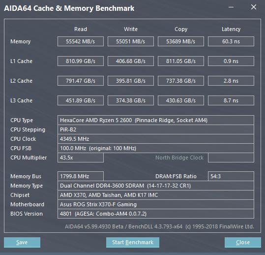 2× 16 GB Crucial Ballistix Sport LT@DDR4-3600 CL14