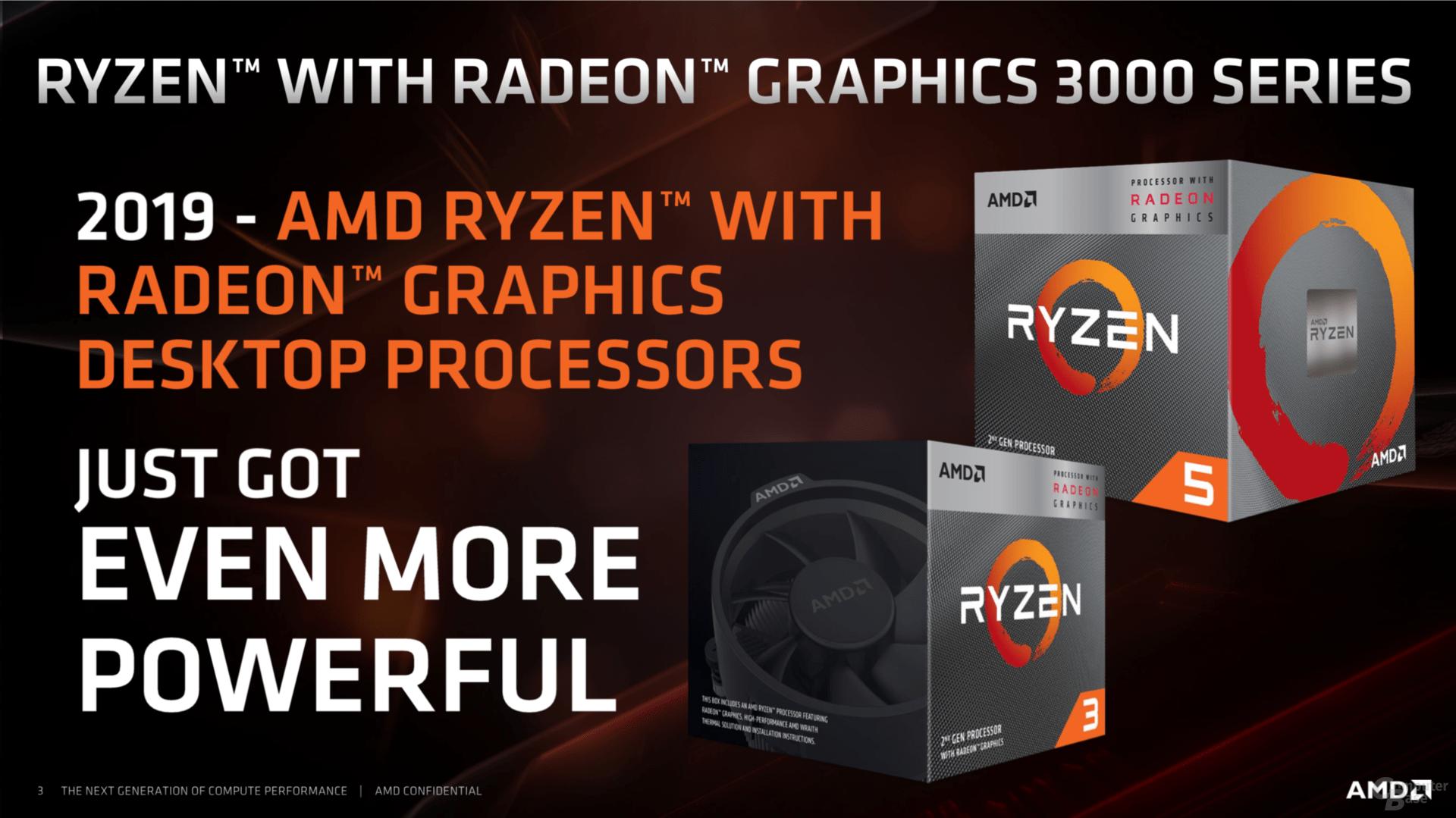 AMD Picasso für den Desktop