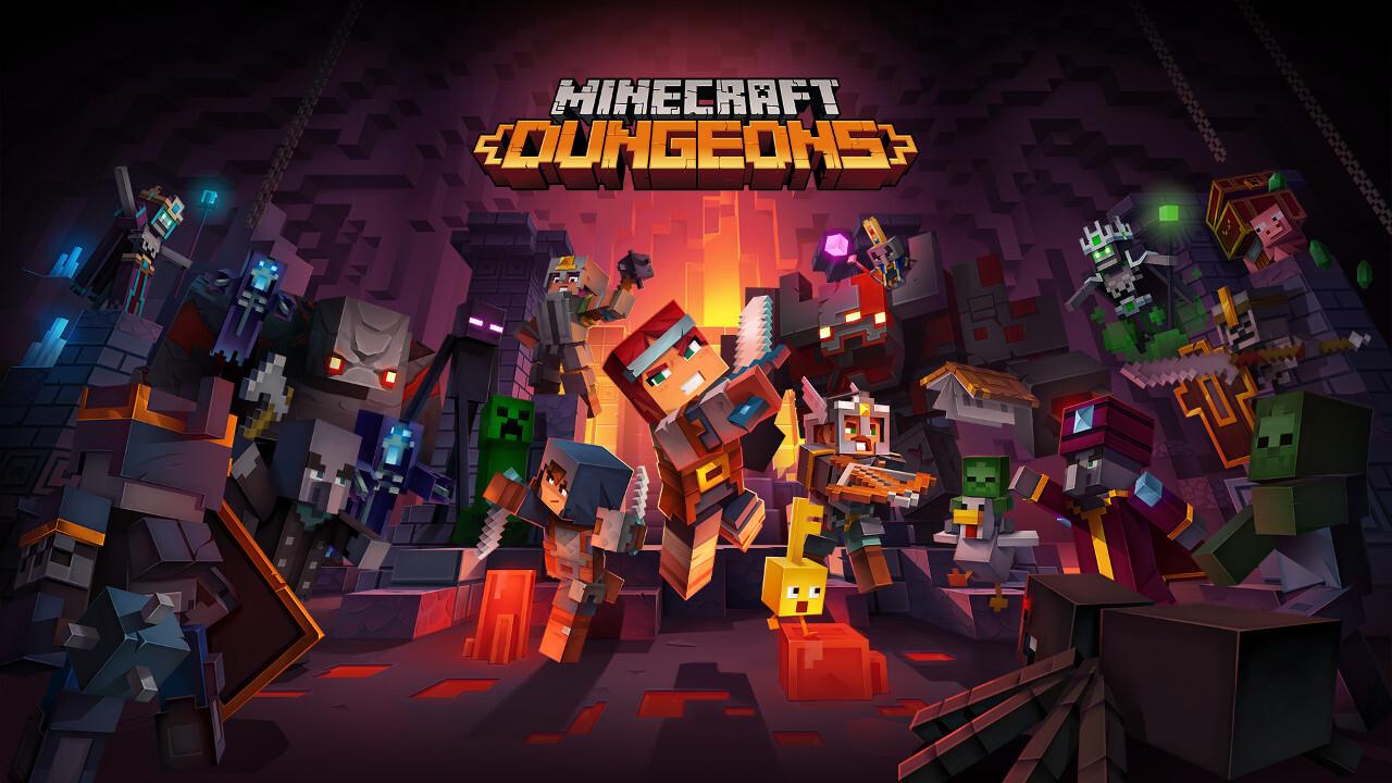 Minecraft Dungeons: Koop-Adventure im Stil klassischer Dungeon-Crawler