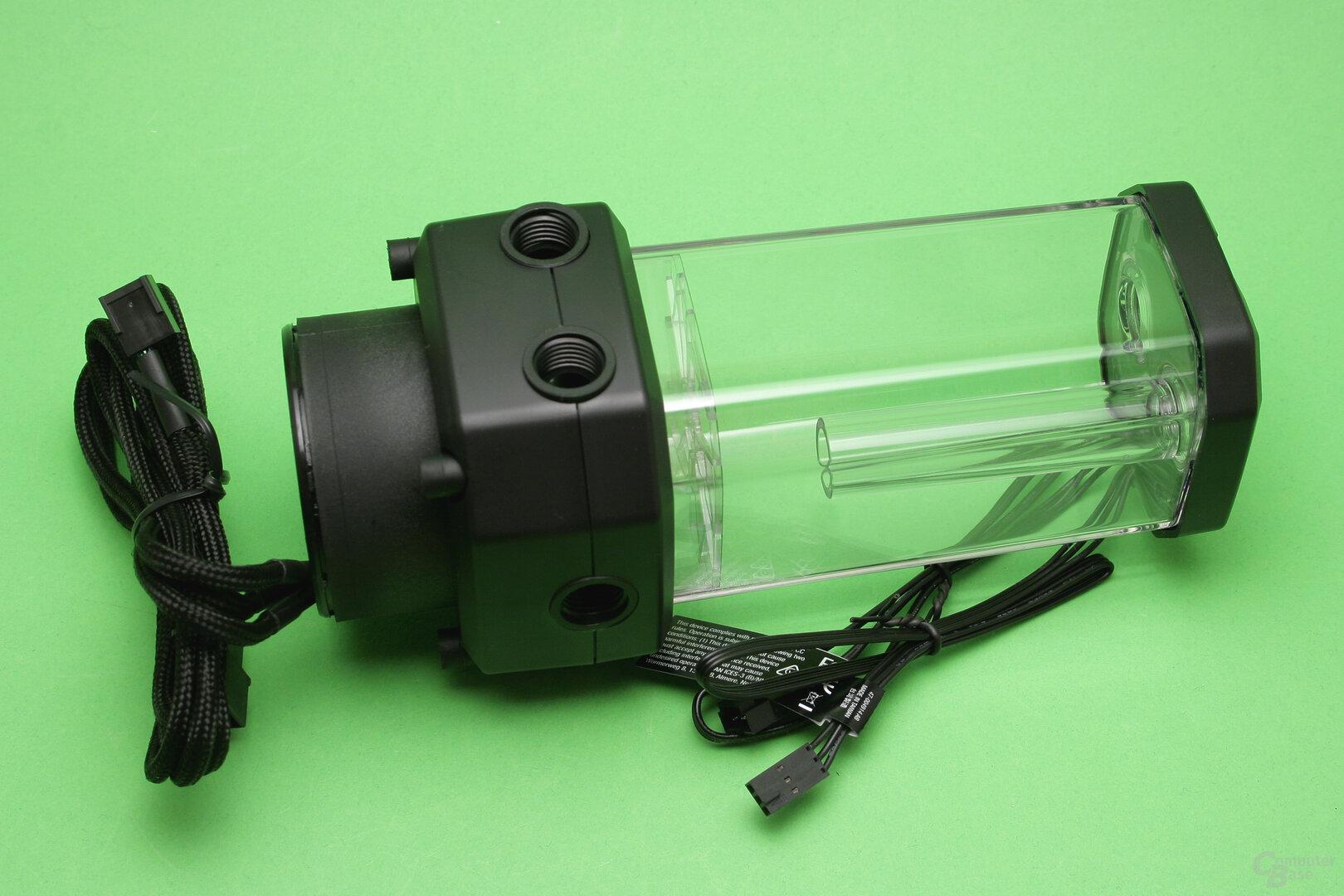 Corsair Hydro X: Pumpe und Ausgleichsbehälter XD5 RGB