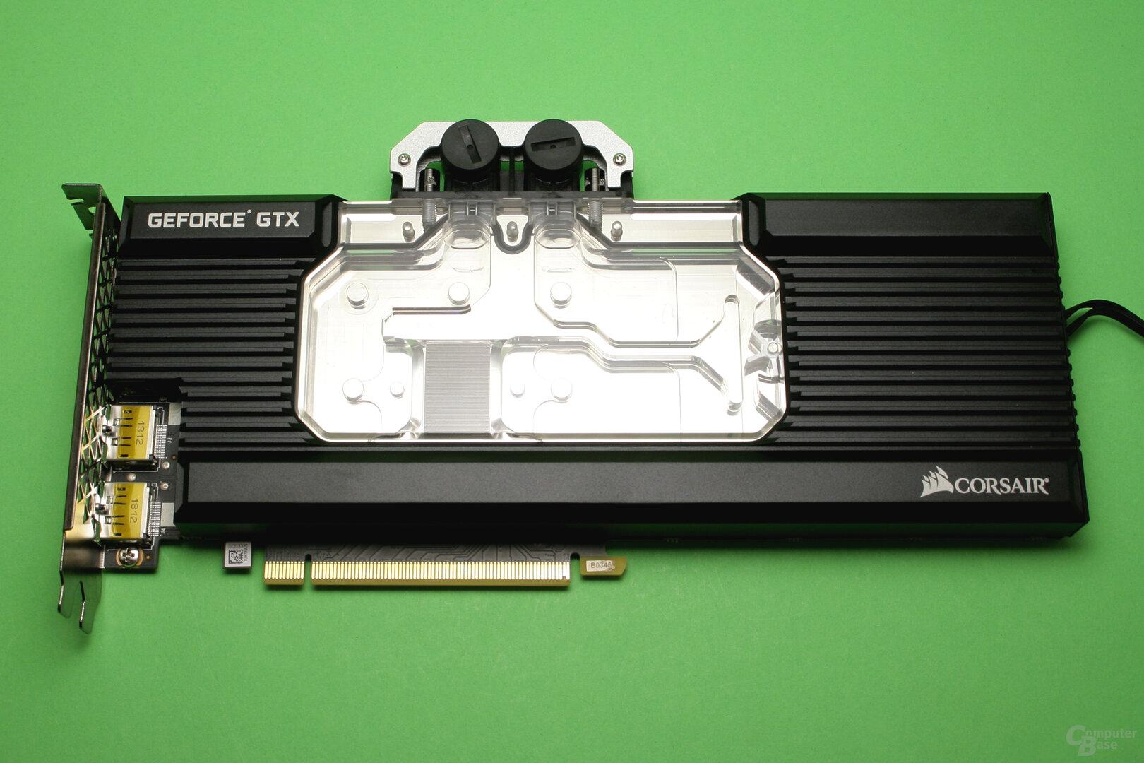 Zotac GTX 1080 Ti mit Wasserkühler