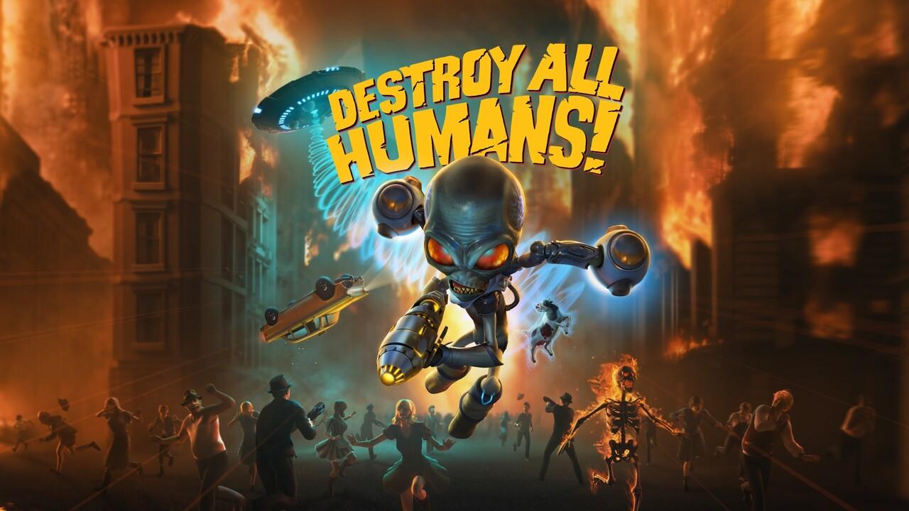 Destroy all Humans!: Die Menscheit wird nächstes Jahr schöner unterjocht
