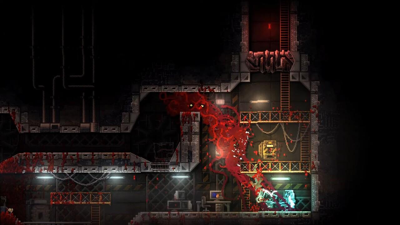 2D-Actionspiel: Carrion macht den Spieler zum Monster