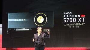 AMD: Radeon RX 5700 XT kommt als schnellere 50th Edition