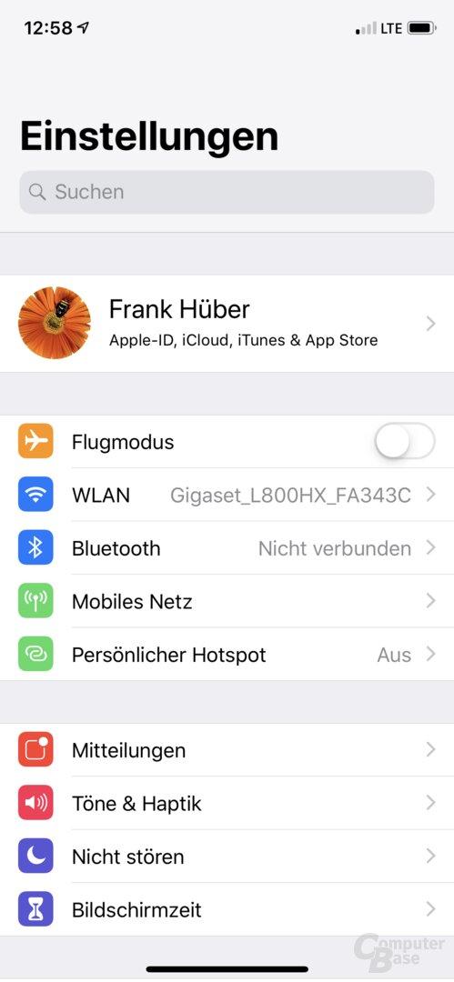 Einrichtung des L800HX über die Gigaset-App