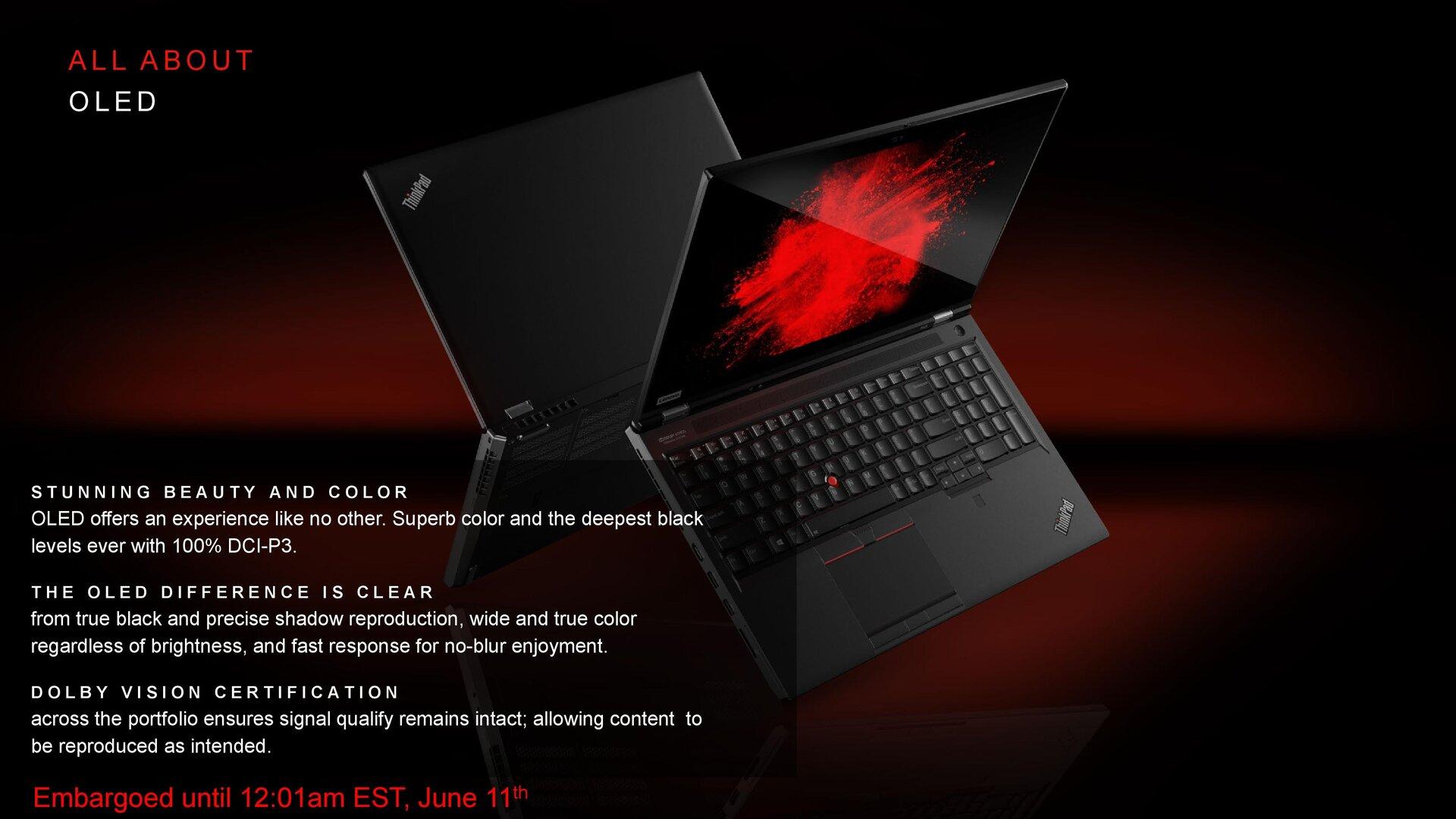 Neue Lenovo ThinkPads der P-Serie