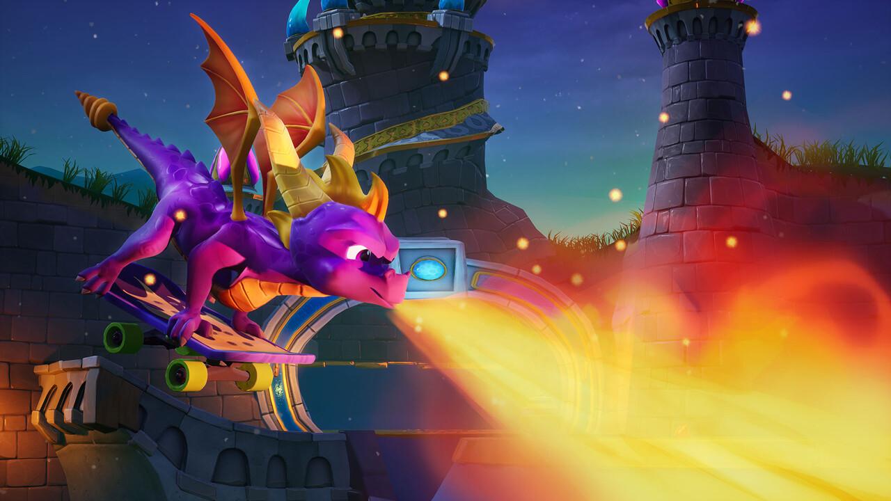 Spyro Reignited Trilogy: Lila Drache fliegt auf PC und Switch