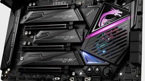 X570-Chipsatz: Semi-Passiv-Kühlung von null bis 5500 U/min