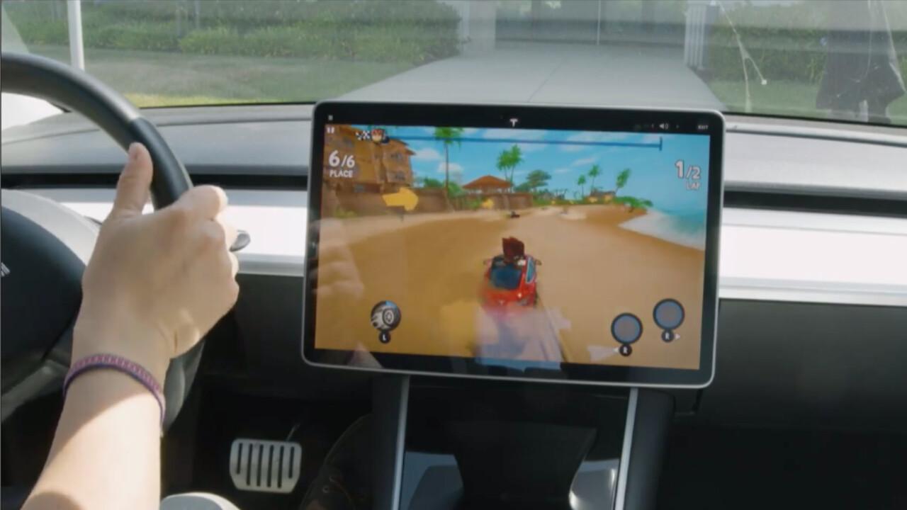 Tesla: YouTube, Fallout und Lenkrad-Steuerung kommen