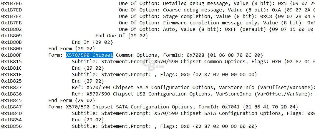 In BIOS-Dateien von Gigabyte wird der X590 schon erwähnt