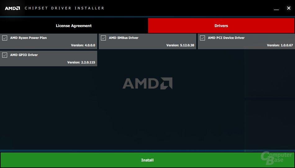 AMD Chipsatz-Treiber für Ryzen 3000