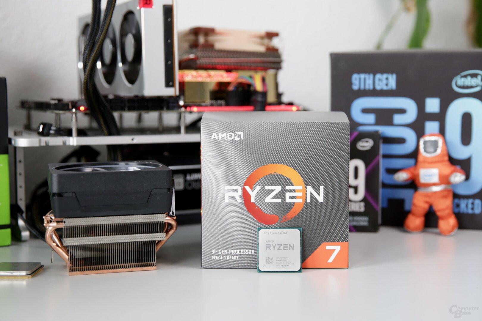 AMD Ryzen 7 3700X mit Boxed-Kühler Wraith Prism